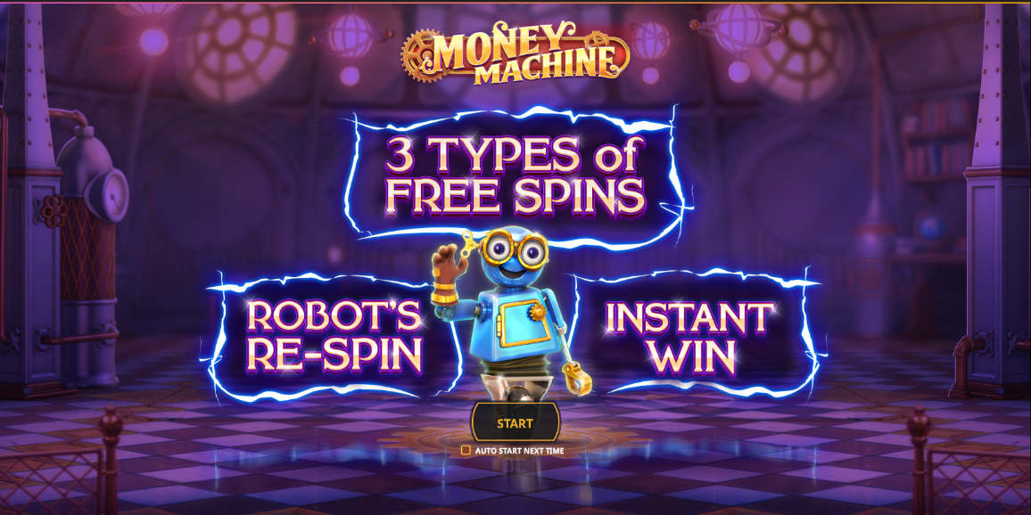Play Money Machine » Slot Game » Betfair Arcade