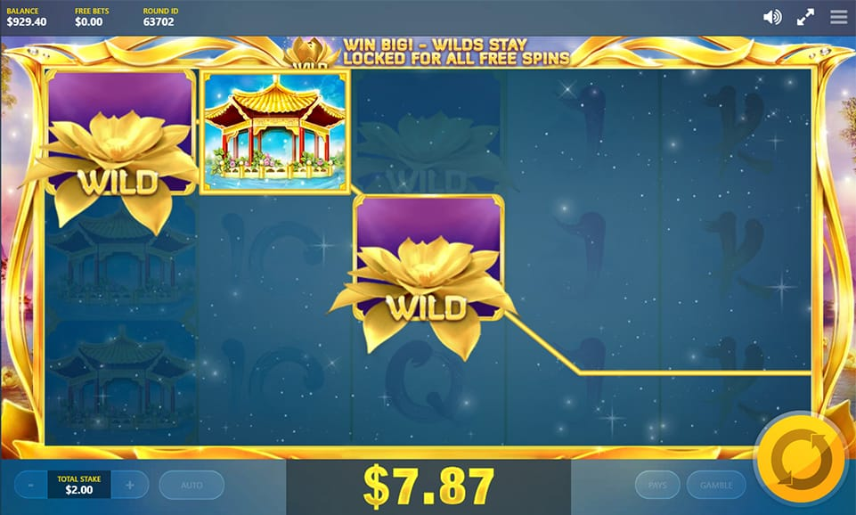 Play Golden Lotus Jackpot Slot Game Games On Paddypower