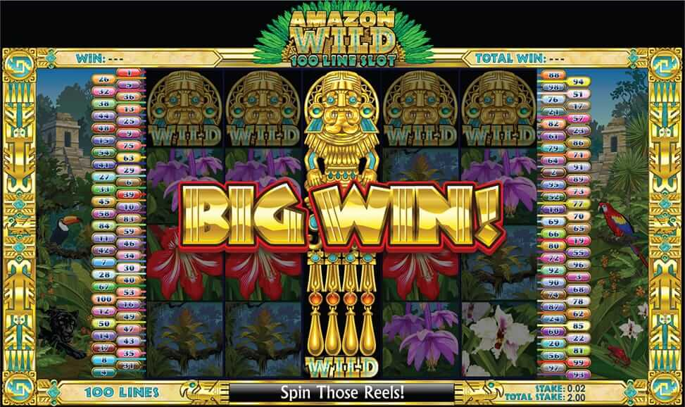 Play Amazon Wild Slot Game Games On Paddypower