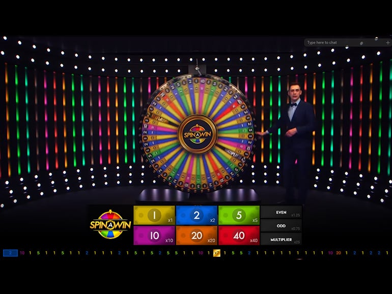 Live Spin a Win Roulette | Play Live Table Games | Paddy