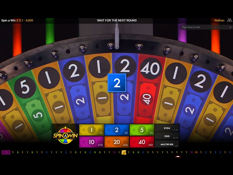 Live Spin a Win Roulette | Play Live Table Games | Paddy Power™ Casino